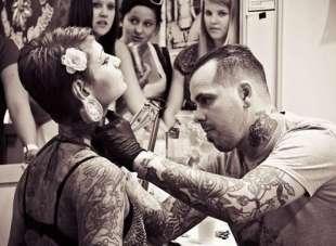 Cамые болезненные места для татуировок